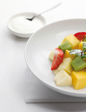 Fruit with Yoghurt